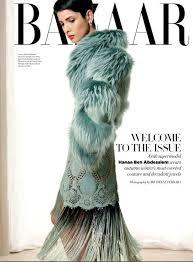 hanaa ben abdesslem fashion model profile on new york magazine hanaa ben abdesslem for harper s bazaar arabia october 2012 fab