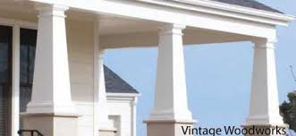 Decorative Column Wraps Porch Columns Design Options For Curb Appeal And More