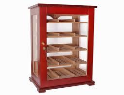 cigar humidor display cabinet cigar cabinet cedar wood humidor glass window w lock 1 humidifier 2