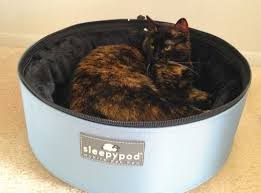 Sleepypod Mobile Pet Bed Review Sleepypod Mobile Pet Bed The Conscious Cat