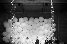 wedding backdrop ideas 2017 2017 wedding trend balloon decor equally wed lgbtq weddings