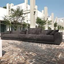 assise canape canapé moderne berry avec coussins d assise en véritable plume d