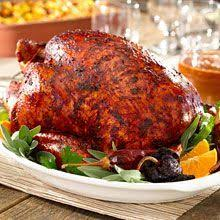 bacon wrapped turkey with chipotle and orange want to knock their