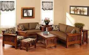 Sofa Designs For Small Living Rooms Wooden Mission Sofa Furniture Brown On Top Storage Small Living
