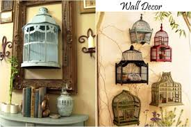 How To Decorate A Birdcage Home Decor Metal Birdcage Wall Decor Birdcage Wall Decor Photo Holder