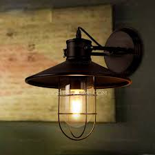 industrial wall sconce lighting industrial wall sconces and wrought iron foyer one light