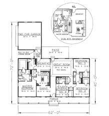 southern style house plan 4 beds 3 00 baths 2156 sq ft plan 44 106