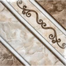 ms international ferrara marron 17 in x 17 in glazed ceramic