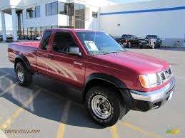 nissan frontier extended cab for sale 1998 nissan frontier xe extended cab 4x4 in strawberry red pearl