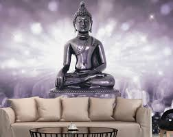 Buddha Room Decor Buddha Wall Decal Etsy