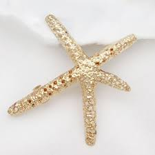 starfish hair clip pentagram hairpin fashion starfish hair