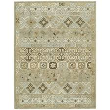 Capel Area Rug Capel Smyrna Afghan Buff 8 Ft X 11 Ft Area Rug 3155rs08001100700