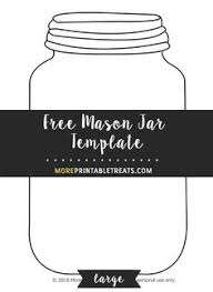 mason jar string art with a printable template to make it easy