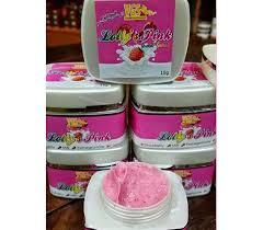 Scrub Bvr lolly pink scrub murah