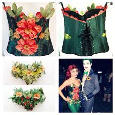 Corsets Halloween Costumes 17 Images Ideen Poison Ivy Costumes
