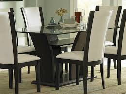 Leather Dining Room Furniture The Most Sophisticated White Leather Dining Chairs