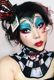 Halloween Queen Makeup by The Queen Of Hearts From Alice In Wonderland Halloween Makeup