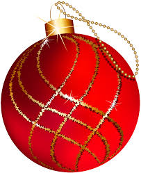 transparent large and gold ornament clipart