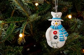 10 tree ornaments merry