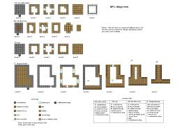 minecraft floorplans by coltcoyote on deviantart npc huts and
