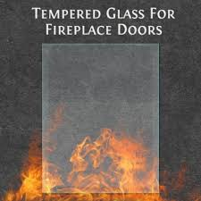 replacement tempered glass for fireplace doors fleshroxon decoration