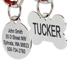 engravable dog tags stainless steel pet id tags personalized dog tags