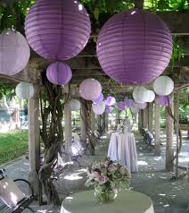 Purple Decorations Decorate Your Party With Paper Lanterns My Practical Baby Shower