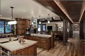 Rustic Kitchen Cabinet Designs Rustic Hickory Kitchen Cabinets U2013 Solid Wood Kitchen Furniture Ideas
