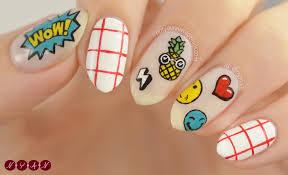 bts springday inspired nail art tutorial n y a n tutorials
