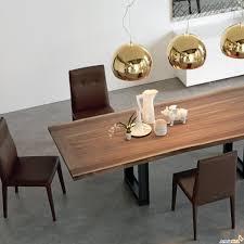 tavoli moderni legno in legno semi grezzo sigma