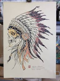 awesome indian skull design tattoos book 65 000 tattoos