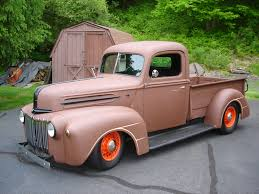 Vintage Ford Truck Parts Canada - 1946 ford pickup the h a m b