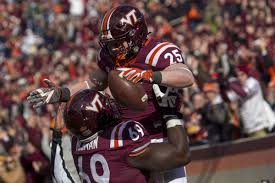 sam rogers caps career leads hokies u0027 dominance of cavaliers