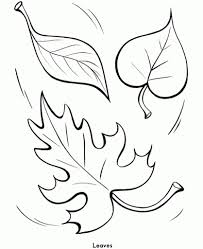 fall leaves coloring pages getcoloringpages pertaining to