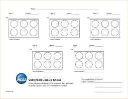 academic resume example volleyball lineup sheets printable gameshacksfree 5 volleyball lineup sheets printable academic resume template inside volleyball lineup sheets printable