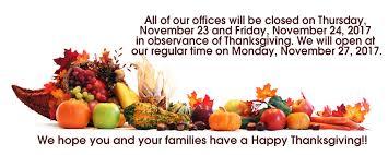 friendly reminder khi closed november 23 24 for thanksgiving