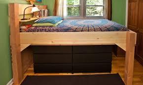 Building A Loft Bed Frame Building A Loft Bed At Warp Speed The Pragmatist Loft Ideas