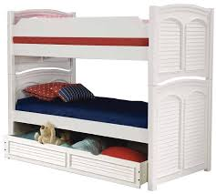 American Woodcrafters Bunk Beds American Woodcrafters Cottage Traditions Bunk Bed With