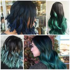 blue ombre hair colors for best color ideas trends in hairstylell