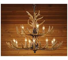 Antler Chandelier Craigslist Lighting Ceiling Fans Headed High Bronze Elk Antler Chandelier