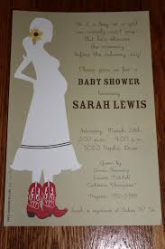 country themed baby shower invitations cowboy themed baby shower invitations wblqual com