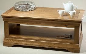 rustic oak coffee table french farmhouse coffee table in solid oak oak furniture land