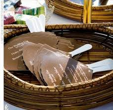 Paddle Fan Program Template Diy Wedding Invitations Programs And More