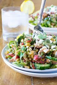 chicken shawarma mediterranean salad pita jungle copycat
