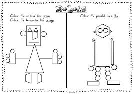 2d shapes robots 2d shapes robots encourages students to look