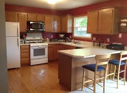 recycled countertops kitchen paint colors with maple cabinets