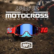 lucas pro motocross 100 signs on as official eyewear of lucas oil pro motocross