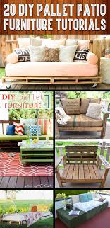 Patio Set With Reclining Chairs Design Ideas 20 Diy Pallet Patio Furniture Tutorials For A Chic And Practical