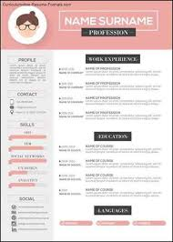 free modern resume templates download free samples examples