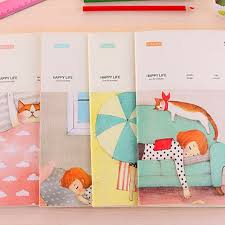 wholesale stationery south korea s and fresh notebook lovely creative diary a5